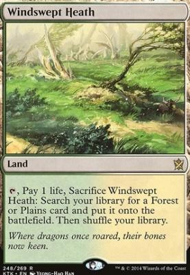 Khans of Tarkir: Windswept Heath