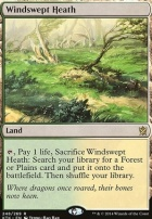 Khans of Tarkir Foil: Windswept Heath