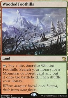 Khans of Tarkir Foil: Wooded Foothills