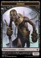 Khans of Tarkir: Zombie Token