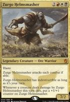 Khans of Tarkir Foil: Zurgo Helmsmasher
