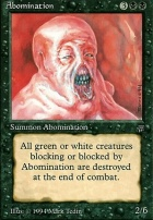Legends: Abomination