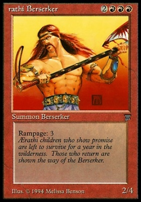 Legends: Aerathi Berserker