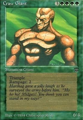 Legends: Craw Giant
