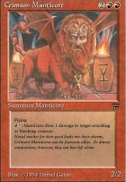 Legends: Crimson Manticore