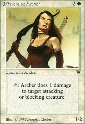 Legends: D'Avenant Archer