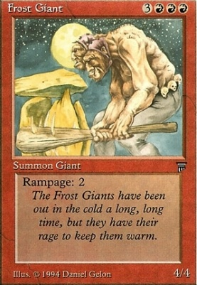 Legends: Frost Giant
