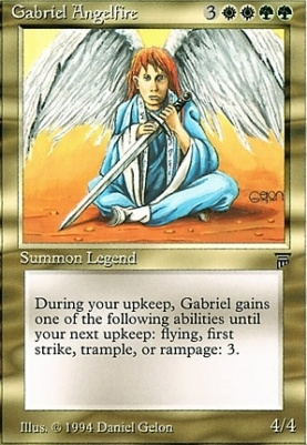 Legends: Gabriel Angelfire