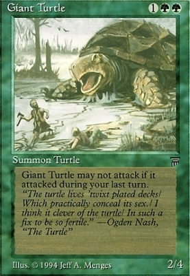 Legends: Giant Turtle
