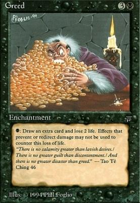 Legends: Greed