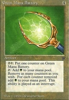 Legends: Green Mana Battery