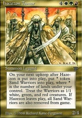 Legends: Hazezon Tamar