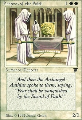 Legends: Keepers of the Faith