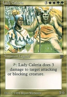 Legends: Lady Caleria