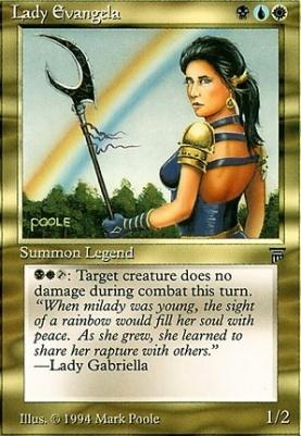 Legends: Lady Evangela
