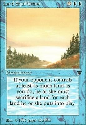 Legends: Land Equilibrium