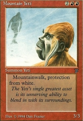 Legends: Mountain Yeti