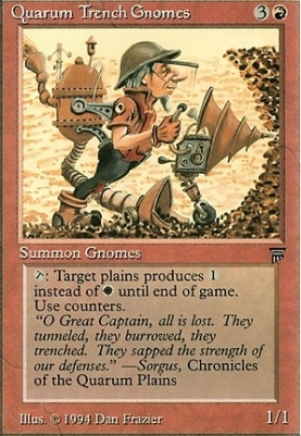 Legends: Quarum Trench Gnomes