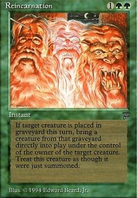 Legends: Reincarnation