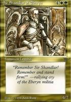 Legends: Sir Shandlar of Eberyn