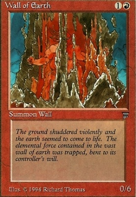 Legends: Wall of Earth