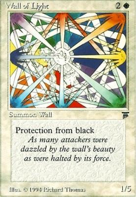 Losse kaarten 1x Wall of Wonder MTG Legends NM Magic Regular