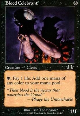 Legions Foil: Blood Celebrant
