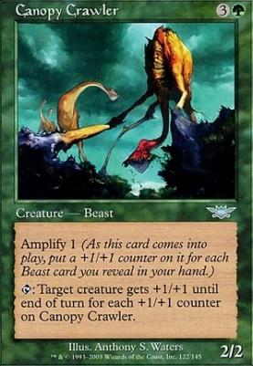 Legions Canopy Crawler & Magic The Gathering Cards | Legions | Canopy Crawler |