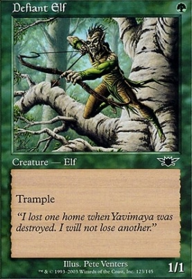 Legions Foil: Defiant Elf