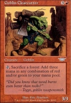 Legions Foil: Goblin Clearcutter