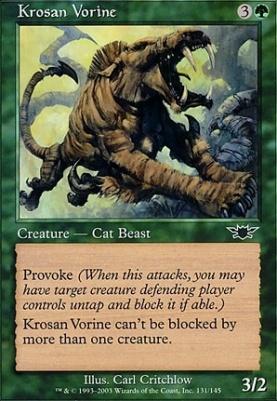 Legions Foil: Krosan Vorine