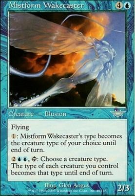 Legions Foil: Mistform Wakecaster