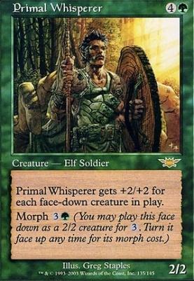 Legions Foil: Primal Whisperer
