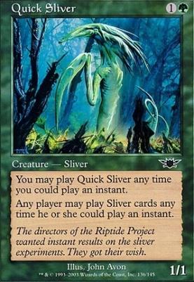 Legions: Quick Sliver
