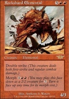 Legions Foil: Rockshard Elemental