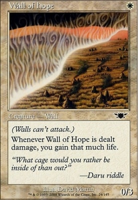 Legions Foil: Wall of Hope