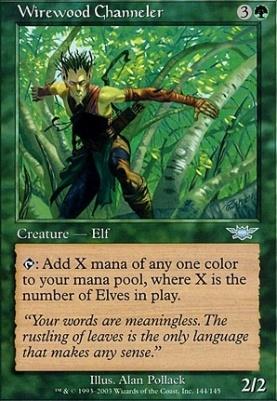 Legions Foil: Wirewood Channeler
