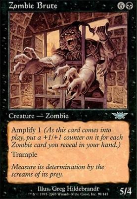 Legions Foil: Zombie Brute