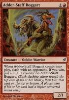 Lorwyn Foil: Adder-Staff Boggart