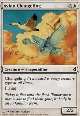 Lorwyn: Avian Changeling