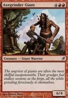 Lorwyn Foil: Axegrinder Giant
