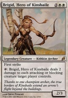 Lorwyn: Brigid, Hero of Kinsbaile