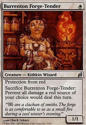 Lorwyn Foil: Burrenton Forge-Tender