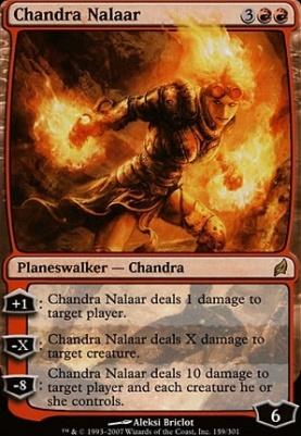 Lorwyn Foil: Chandra Nalaar