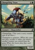 Lorwyn: Changeling Titan