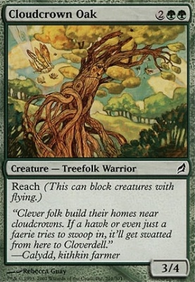 Lorwyn: Cloudcrown Oak