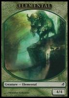 Lorwyn: Elemental Token (Green)
