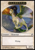 Lorwyn: Elemental Token (White)