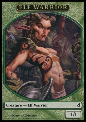 Lorwyn: Elf Warrior Token