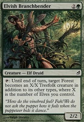 Lorwyn: Elvish Branchbender